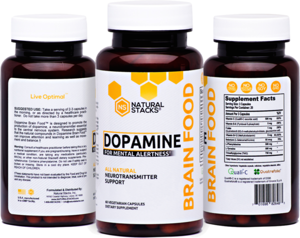 dopamine deficiency symptoms